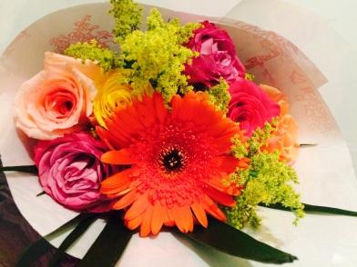 Flowers from stranger